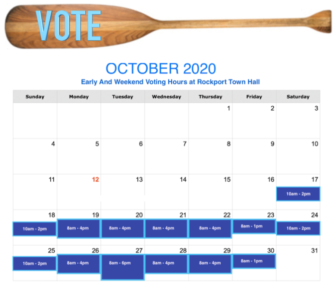 early and weekend voting hours calendar